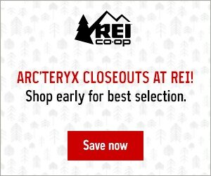 arcteryx sale at REI