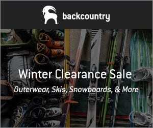 backcountry winter clearance