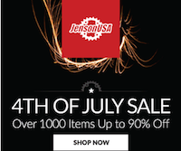 jenson isa 4th of july sale 2015