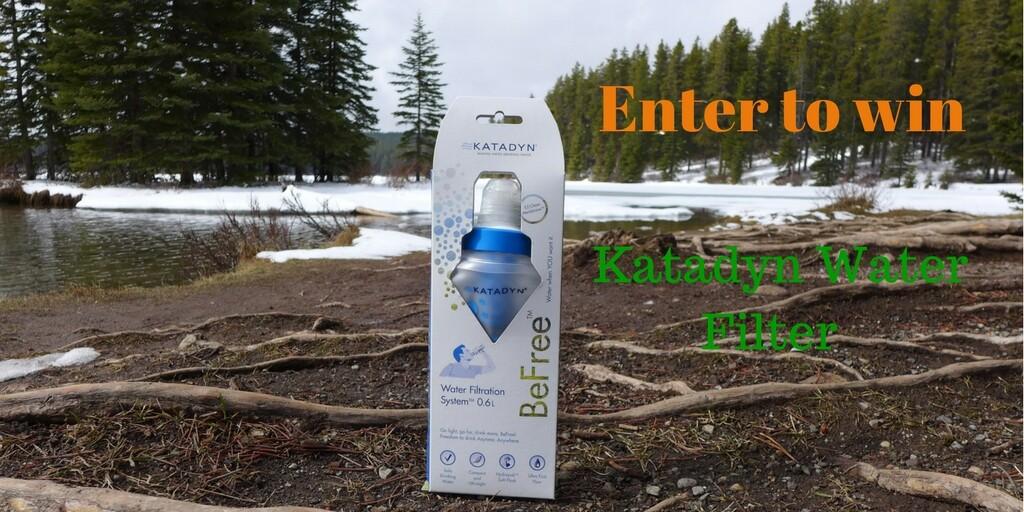 katadyn water filter giveaway