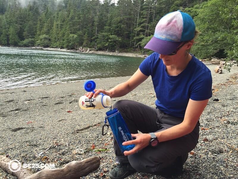 lifestraw 2 stage water filter bottle