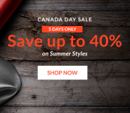 live out there canada day sale