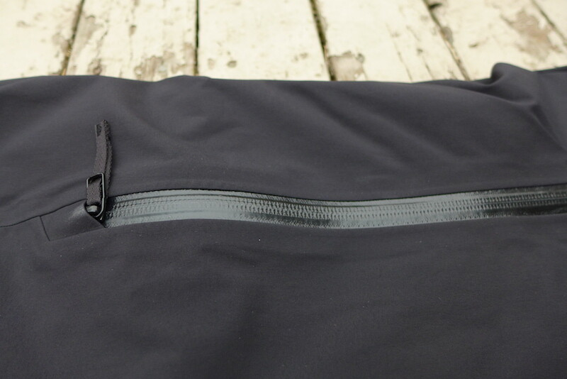 watertight side zippers for venting on arcteryx stingray pants