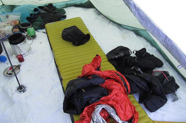 thermarest neoair xlite sleeping mattress image by Anatol Jasiutyn via Flickr